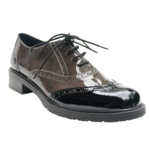 THE FLEXX Wingtip Oxford Saddle Shoes